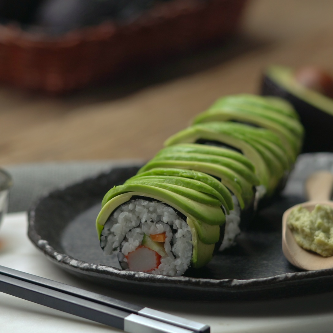 Avocado Sushi Roll