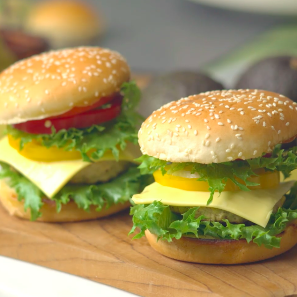 Easy Yummy Avocado Burger