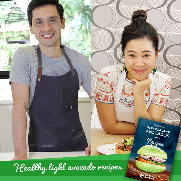 Healthy light avocado recipes by Gen & Zander